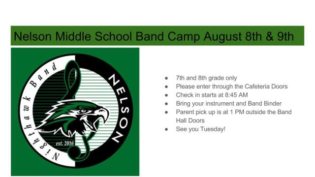 Nelson Band Camp