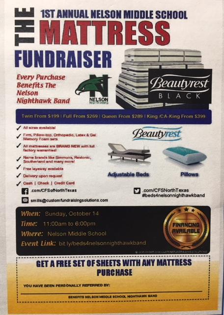 Mattress fundraiser